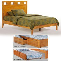 Tamarind Wood Platform Bed in Medium Oak Colorful Furniture, Furniture Sets, Furniture Design, Night And Day Furniture, Wood Platform Bed, Modern Sectional, Online Furniture Stores, Tamarind, Bed Storage