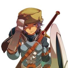 Donnel being a BAMF like we all know he is - Fire Emblem: Awakening fan art