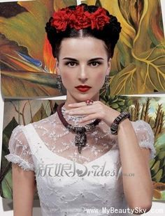 Graceful and elegant vintage brides back to the last century_Weddings_MyBeautySky.com