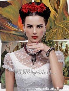 Graceful and elegant vintage brides back to the last century_Weddings_MyBeautySky.com