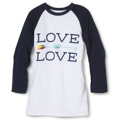 $13 WANT SO BAD Men's Love Is Love Raglan T-Shirt