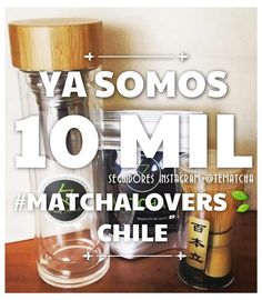 Gracias a los más de 10MIL seguidores de nuestra cuenta de instagram #TéMatchaChile @tematcha !! Cada día somos más los fans de #Matcha en nuestro país optando una vida más saludable  www.matchachile.com #MatchaChile #MatchaLovers #TéVerde #Chile #VidaSaludable #SomosMás #Propiedades #Orgánico