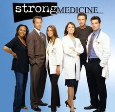 Strong Medicine.  This was the last TV show I worked on before I moved in '03.  We worked in some abandoned hospital.  It was a little creepy.