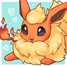 Fire Pokemon, Pokemon Eeveelutions, Eevee Evolutions, Pokemon Fan Art, Cool Pokemon, Pokemon Stuff, Cute Pokemon Pictures, Cute Anime Pics, Cute Pokemon Wallpaper