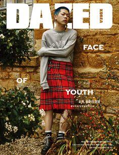 Oh Hyuk - Dazed Korea Magazine March Issue '16