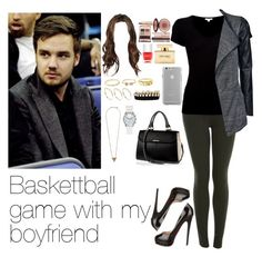 """""""Baskettball game with Liam"""" by myllenna-malik ❤ liked on Polyvore featuring Miss Selfridge, James Perse, ONLY, Christian Louboutin, Charlotte Tilbury, Nails Inc., Dolce&Gabbana, Case-Mate, Charlotte Russe and ASOS"""