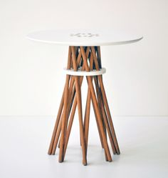 Bundle Side Table by Ampersand, via FormFreundlich.de