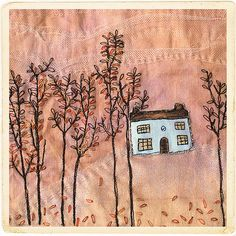 Carolyn Saxby - many more leaves to stitch
