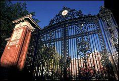 Van Wickle Gates at Brown University