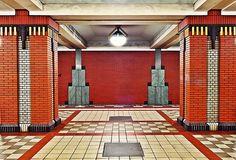Berlin, underground station, Art #Deco