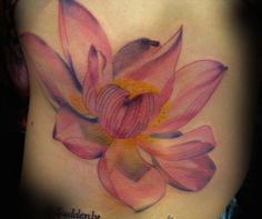 lotus tattoos   Semana Oriental: 50 Tatuagens de Flores de Lotus