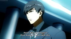 Find images and videos about tokyo ghoul and amon on We Heart It - the app to get lost in what you love. Amon Tokyo Ghoul, Tokyo Ghoul Cosplay, Amon Koutarou, Tokyo Ghoul Wallpapers, Anime Characters, Fictional Characters, Kaneki, Image Sharing, Dark Fantasy