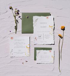 Wedding Invitation Samples, Beautiful Wedding Invitations, Wedding Invitation Suite, Floral Wedding Invitations, Invites, Boho Wedding, Rustic Wedding, Wedding Flowers, Dream Wedding