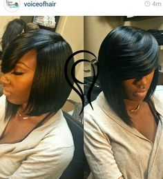 Bob Cut Front Layers