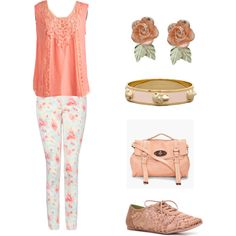 Luv everything..especially  the pants! But with different shoes!!