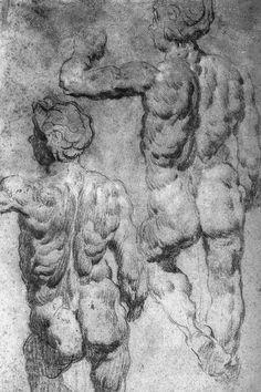 renaissance-art-blog:  Study via Tintoretto