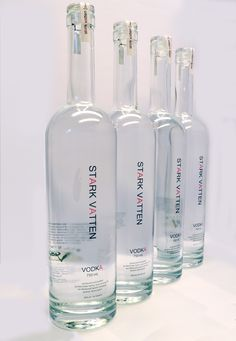 Stark Vatten Vodka from Wildwood Spirits Co. in Bothell, WA. Photo courtesy of Zoey Liedholm.