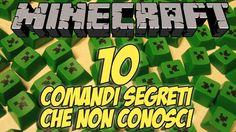 Minecraft : 10 COMANDI SEGRETI CHE NON CONOSCI [Minecraft Fact - Trivia]
