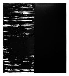 Pierre Soulages, 2014 Courtesy of the artist & Galerie Perrotin Francis Bacon, Keith Haring, Art Informel, Louise Nevelson, Luminous Colours, Art Abstrait, French Artists, Shades Of Black, Dark Colors