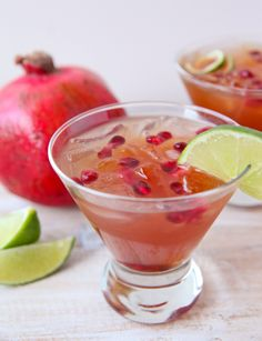 pomegranate margarita 376x490 Best Margarita Recipes to Celebrate Cinco de Mayo