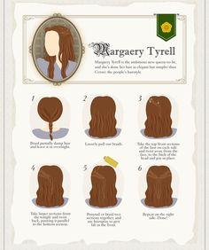 Margaery Tyrell hair tutorial