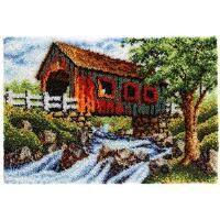 Craftways® Covered Bridge Rug Latch Hook Kit