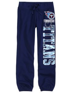Tennessee Titans Fleece Cuff Sweatpant | Sweatpants | Clothes | Shop Justice size 16