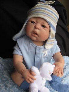 HUSHABYE MOUNTAIN~reborn baby boy~DAKOTA~Sheila Michael~full body 'soft line' |