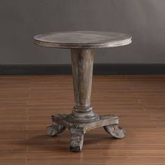 Renate Round End Table   Overstock.com