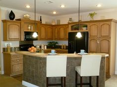Mobile Home Remodeling Ideas   Redman Homes | Kitchen | Pinterest |  Remodeling Ideas, Kitchens And House