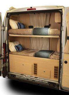 Van Peugeot Windrush :: Auto-Sleepers Motorhomes (Trailer Camping Hacks)