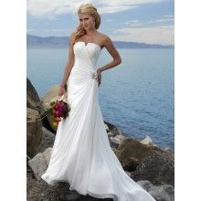 Gown for Beach Wedding