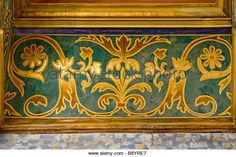 Painted Ceiling Beams Stock Photos & Painted Ceiling Beams Stock ...