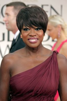 Viola Davis. Amazing actress and just plain gorgeous!