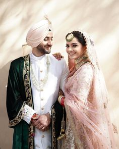 The Effective Pictures We Offer You About Groom Outfit for men A quality picture can tell you many things. You can find the most beautiful pictures that can be presented to you about Groom Outfit clas Sikh Wedding Dress, Punjabi Wedding Couple, Couple Wedding Dress, Wedding Dresses Men Indian, Indian Bridal Outfits, Wedding Groom, Wedding Couples, Couple Punjabi, Indian Weddings