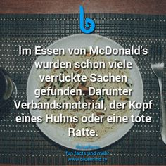 #bluefacts #fakten #weisheit #wisdom #zitat #quote #spruch #mcdonalds #food #foodporn #typography