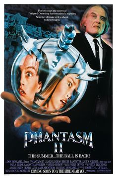 "Phantasm II - Review: It took nine years to get a sequel made for the original ""Phantasm"". You have to love the tagline for… #Movies #Movie"