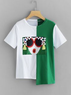 3D Printed T-Shirts Beautiful Raster Image with Nice Watercolor Parrots Short Sleeve Tops Tees