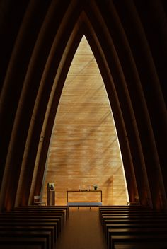 onsomething:      onsomething    Sanaksenaho Architects | St. Henry's Ecumenical Art Chapel - Turku, Finland