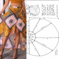 Best 8 Sewing Clothes Patterns Pattern fashion Deniz – You'll know how to reinforce a buttonhole, sew a pillowcase, and learn other handy stitches. Skirt Patterns Sewing, Clothing Patterns, Fashion Sewing, Diy Fashion, Costura Fashion, Fairy Clothes, Sewing Lessons, Sewing Basics, Sewing Clothes