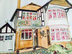 House Portrait - more info at www.jennydunlop.co.uk