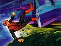 RON EMBLETON CAPTAIN SCARLET END-CREDITS ARTWORK