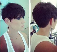 Long Pixie Cuts with Bangs Front and Back - Bing images