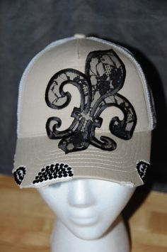 A personal favorite from my Etsy shop https://www.etsy.com/listing/267964750/womens-trucker-hat-baseball-hat-womens
