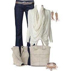 Great chilly summer evening or transition into fall outfit!