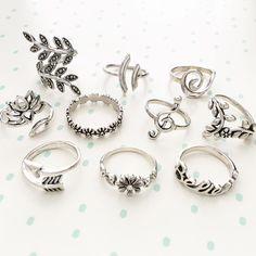10 Jewelry Rings you will Like this Season. Stylish Jewelry, Cute Jewelry, Gold Jewelry, Jewelry Rings, Jewlery, Cute Rings, Pretty Rings, Beautiful Rings, Bijoux Design