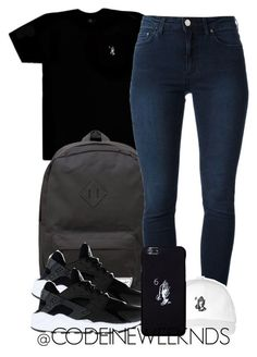 7:13:15 by codeineweeknds ❤ liked on Polyvore featuring Octobers Very Own, Herschel Supply Co., Acne Studios and NIKE