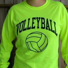 Volleyball Long Sleeve and just have Central instead of Volleyball- school colors.
