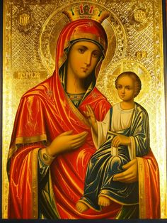 Virgin And Child by Christian Art Religious Icons, Religious Art, Mother Mary, Mother And Child, Hail Holy Queen, Religion, Biblical Art, Byzantine Icons, Madonna And Child