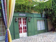 Souleïado installed in a fourteenth century Hotel in downtown, Tarascon, Provence, France